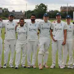 Incredible Win for Accies 1st XI v Watsonians