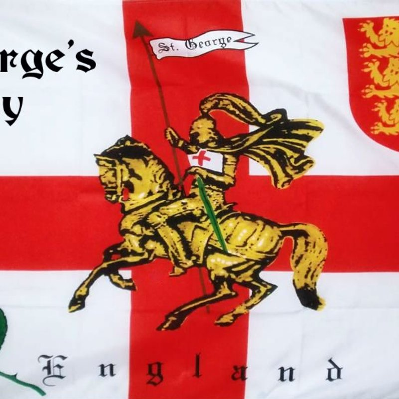 ST GEORGES DAY LUNCH on Sunday 23rd April