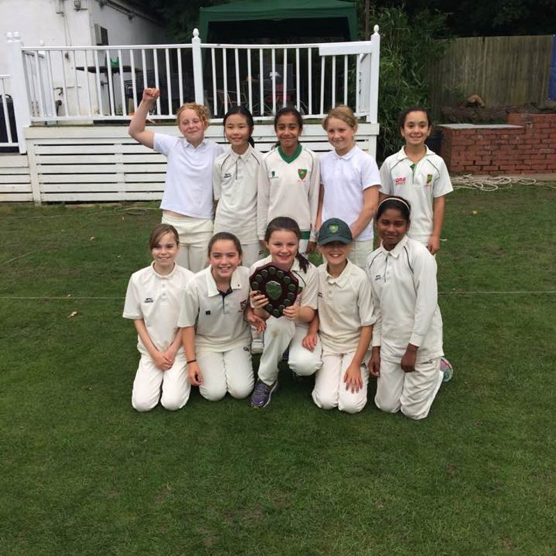U11Girls are Middlesex Champions 2017!