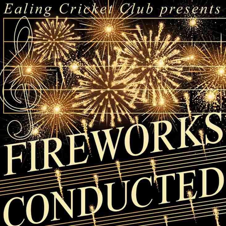 EALING CRICKET CLUB 'Classical' Fireworks Display 2017!
