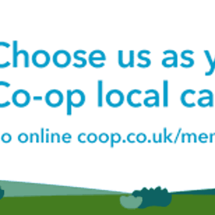 Raise money for Ealing CC thru' the Co-op