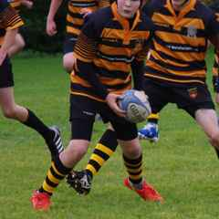 HRUFC U14s in the Cheshire Plate