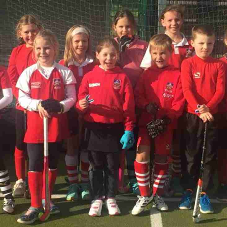 U10s Undefeated at Folkestone