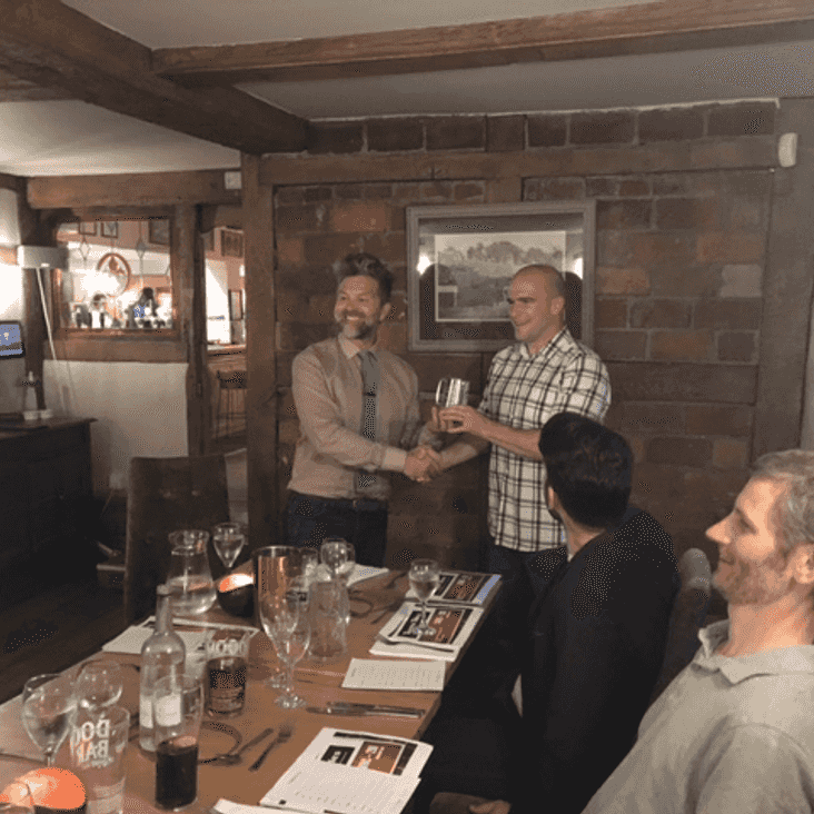 Dickie Turnill wins new trophy
