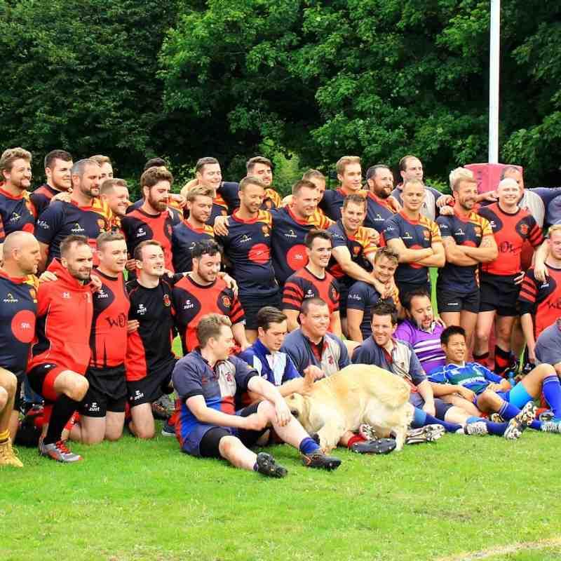 2nd XV v Wyverns B - 15th August 2015