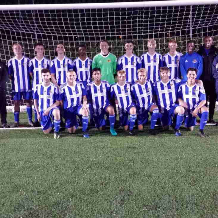 Under 18's back in FA Youth Cup Action Tonight