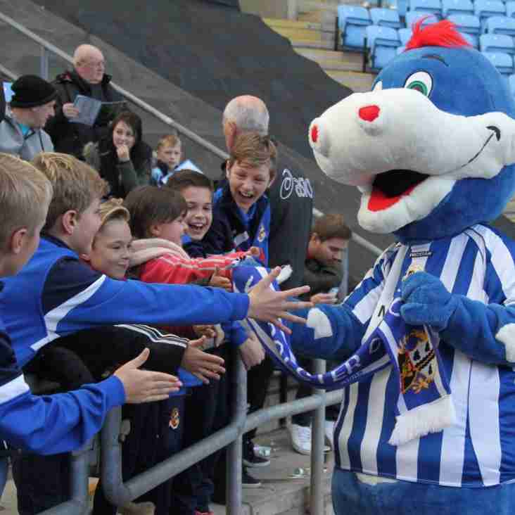 Georgie Dragon To Play In Mascot Match