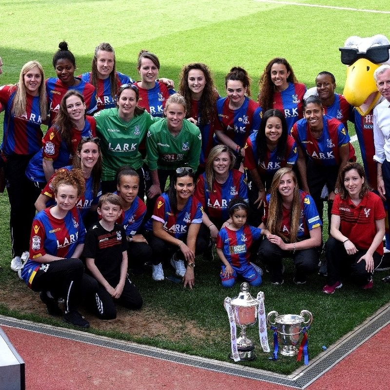 Palace Ladies v Charlton in FA Cup at Selhurst Park