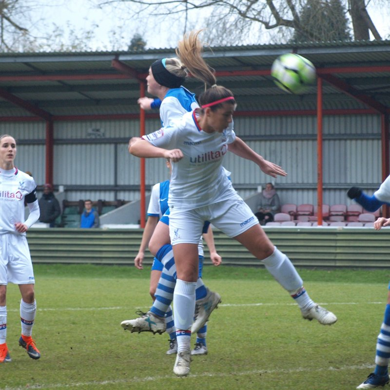 PRIDE OF SOUTH LONDON - PALACE TAME LIONESSES IN FA CUP