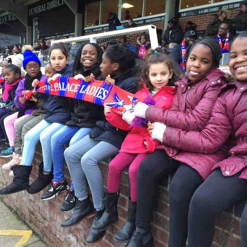 Palace Ladies Working WIth Others