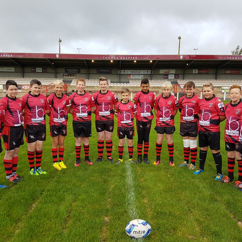 U13s lose to Old Brodleians 1 - 7