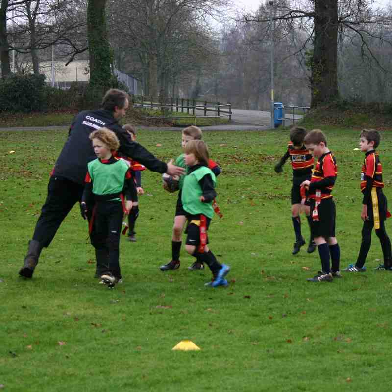 Under 8s Training 4th January 2015