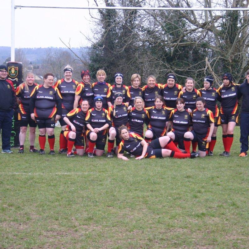 Chard Ladies XV lose to TEIGNMOUTH 12 - 20