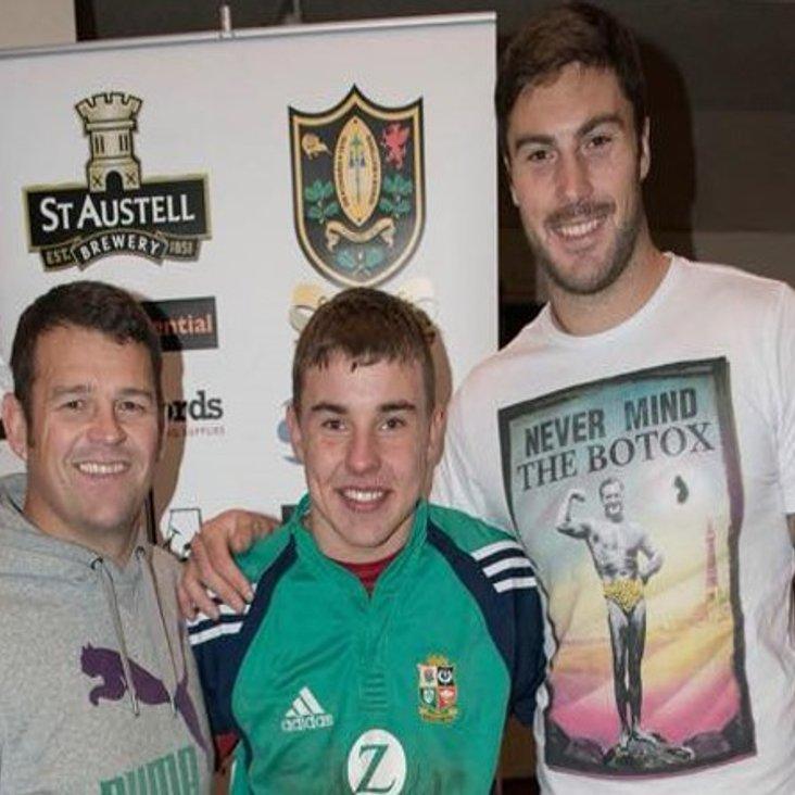 England and Bath stars to help coach at Chard<