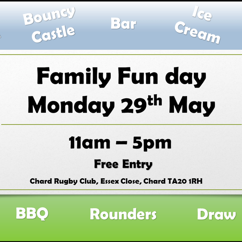 Family Fun Day 29th May