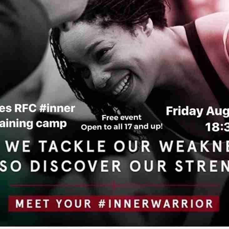 Ladies Inner Warrior this Friday