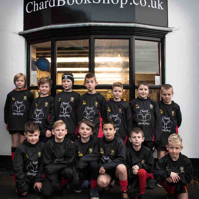 Chard U9s New drill tops from Chard Bookshop photos courtesy of Steven Driskell SoulPhotography