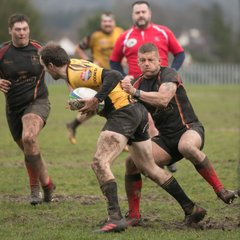 Chard RFC v Wadebridge Camels 3/2/18 By Jim Brown Photography
