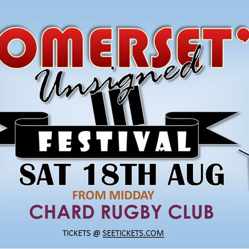 SOMERSET'S Unsigned 3 at Chard RFC 18th Aug from Midday
