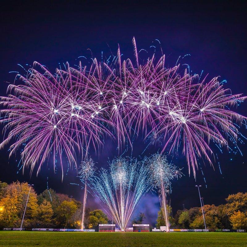 Fantastic Fireworks at Chard RFC