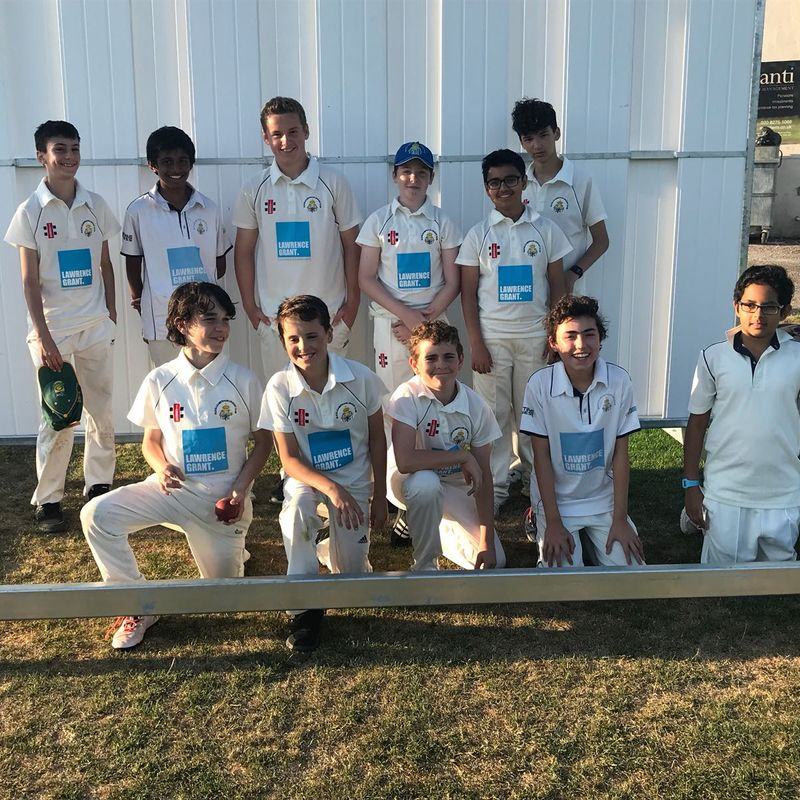 Totteridge Millhillians U13 vs. Old Elizabethans CC U13