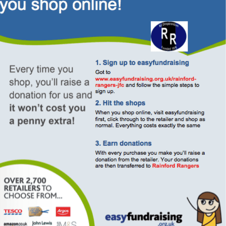 Help raise money for our club by shopping on-line