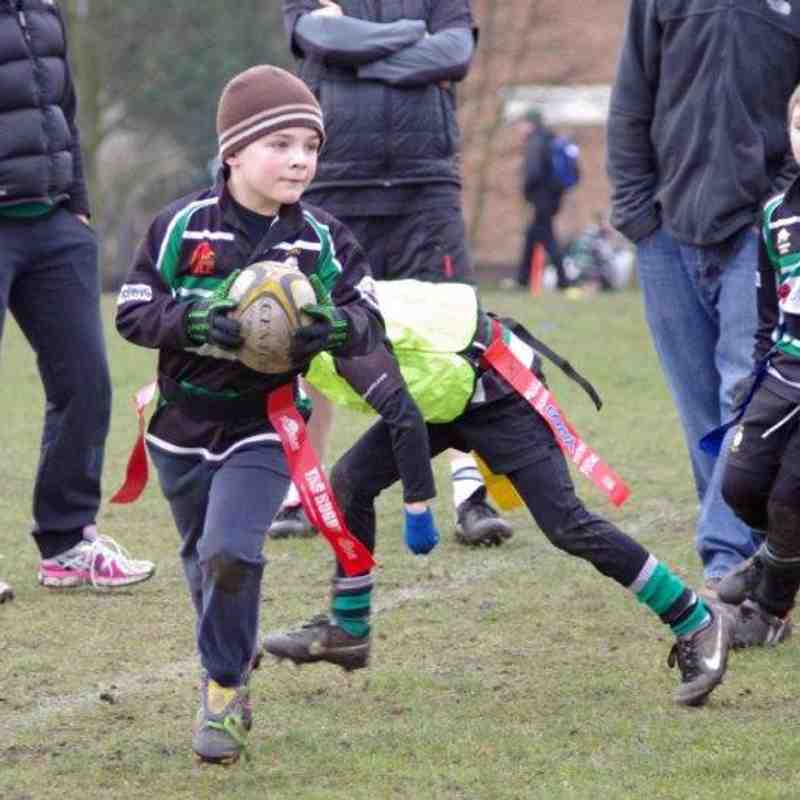 U7's vs Roundhegians, 15th Mar 2015