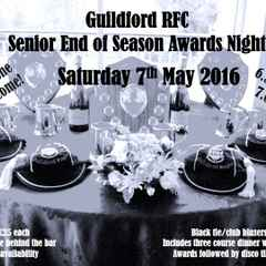 Senior Awards Evening - Don't Forget To Buy Your Tickets!