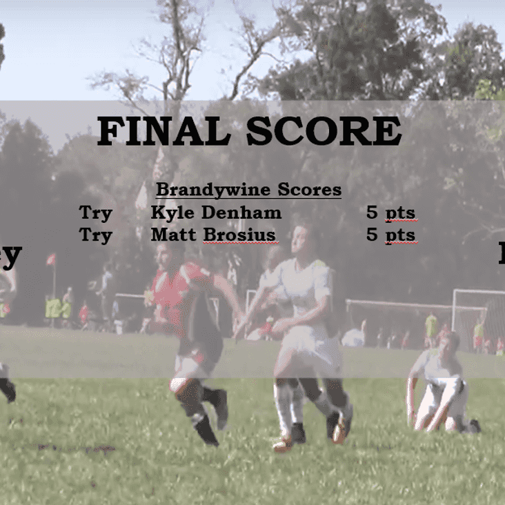 09/23/17 Match Report vs. South Jersey RFC