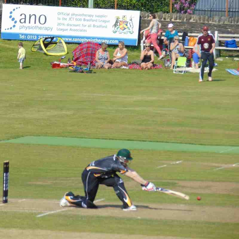 Saints beat Lightcliffe in the T20 Cup