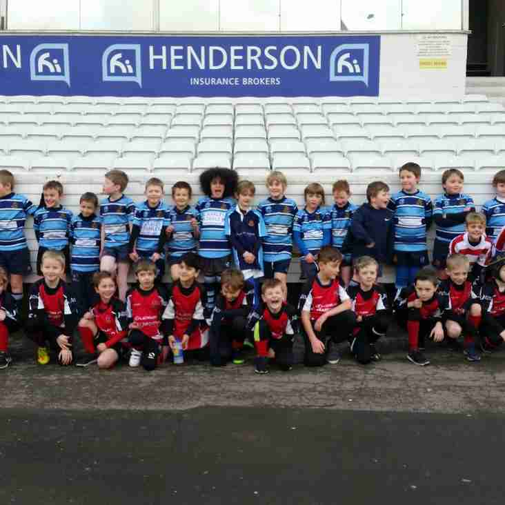 U8s have a great day out at Headingley