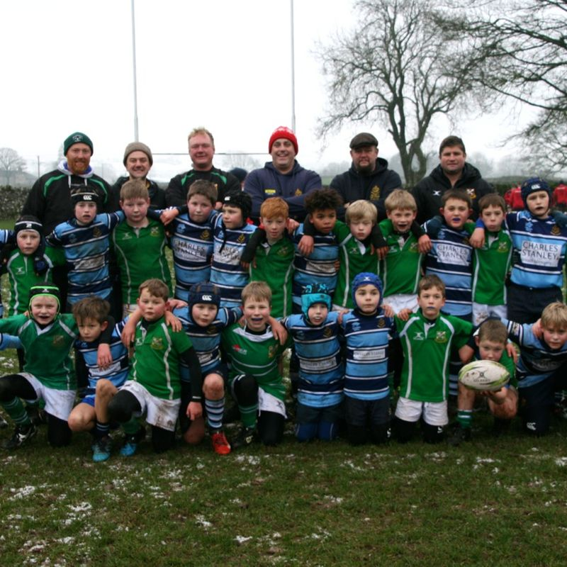 U10s beat the weather to play Wharfedale opener
