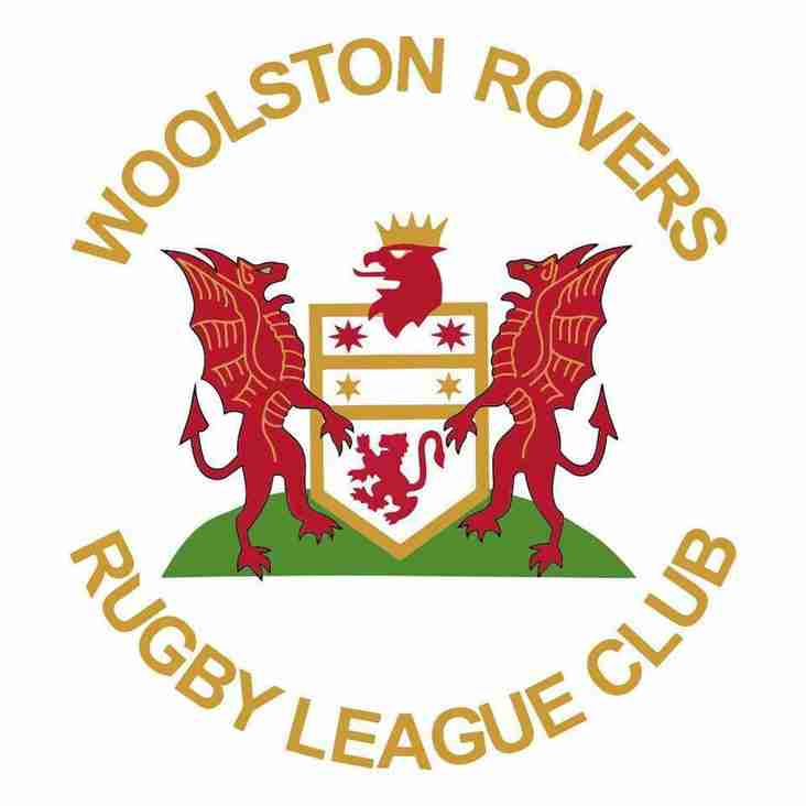 WOOLSTON ROVERS v CROSFIELDS 'DOUBLE HEADER' TOMORROW (Saturday)