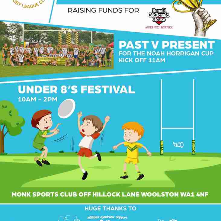 WOOLSTON ROVERS HOLD 4th ANNUAL RONALD McDONALD HOUSE (ALDER HEY) CHARITY DAY