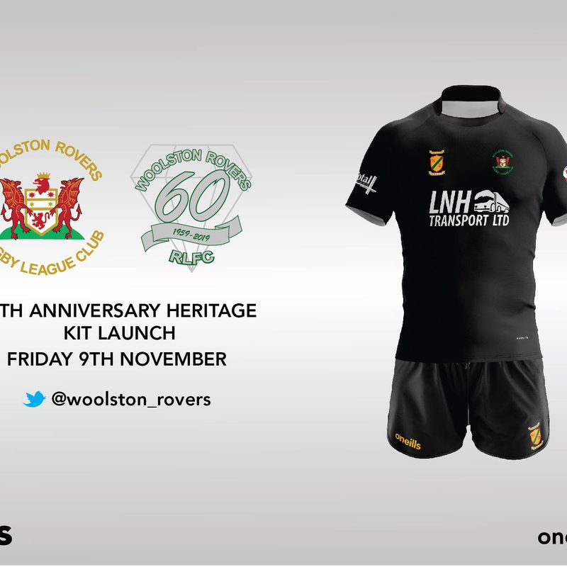 Woolston Rovers 60th Anniversary Heritage Kit to be revealed