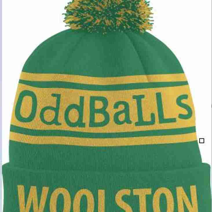 Woolston Rovers OddBalls bobble hat - 2nd batch being ordered