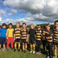 U7s (mini tag rugby) v Marple  - 2nd October 2016