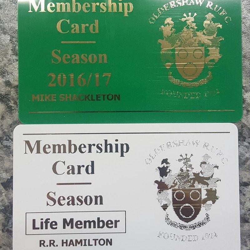 MEMBERSHIP CARDS!