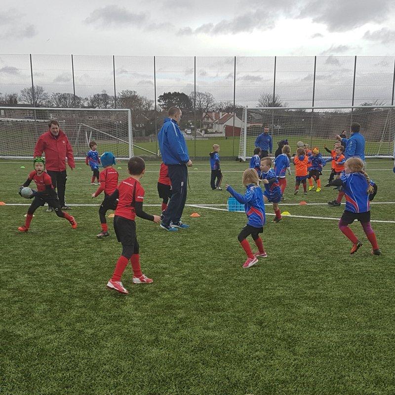 Minis at Kirkcaldy Feb 2017