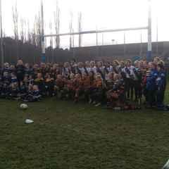 Mansfield U13 Girls  v Club Cluster