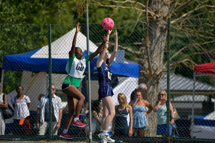 Izzy takes her first step onto the netball pathway