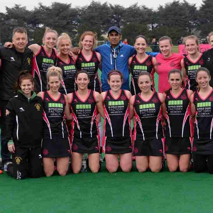 Slough Ladies 1s win promotion to Premier division....
