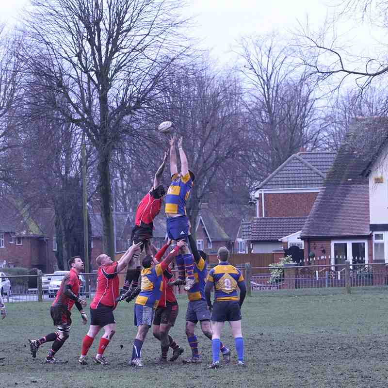 Walsall 2s v Old Halesonians 14.02.15
