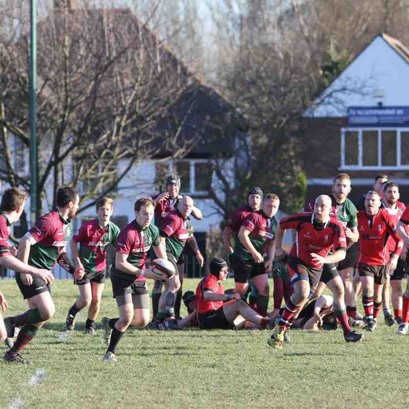 Walsall 3s vs Stone 07.03.15