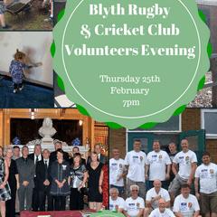 Volunteers Evening