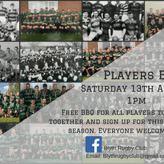 Players BBQ - All welcome