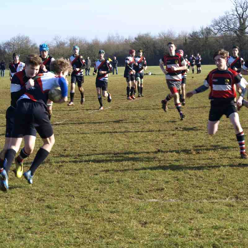 Frome U16 V Ivel Barbarians 8.2.15