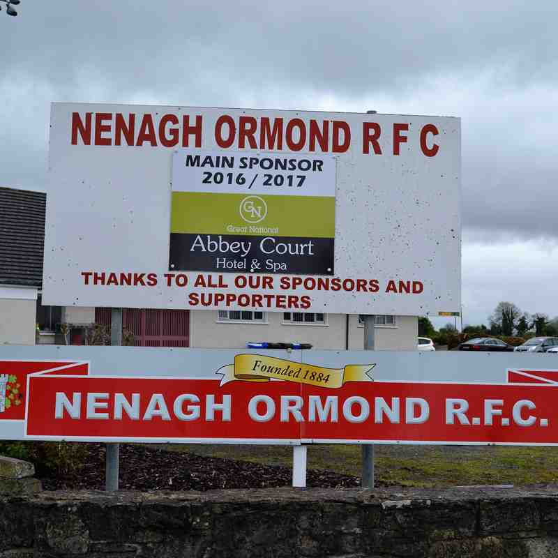Galway Tour Game one,  Nenagh Ormond RFC