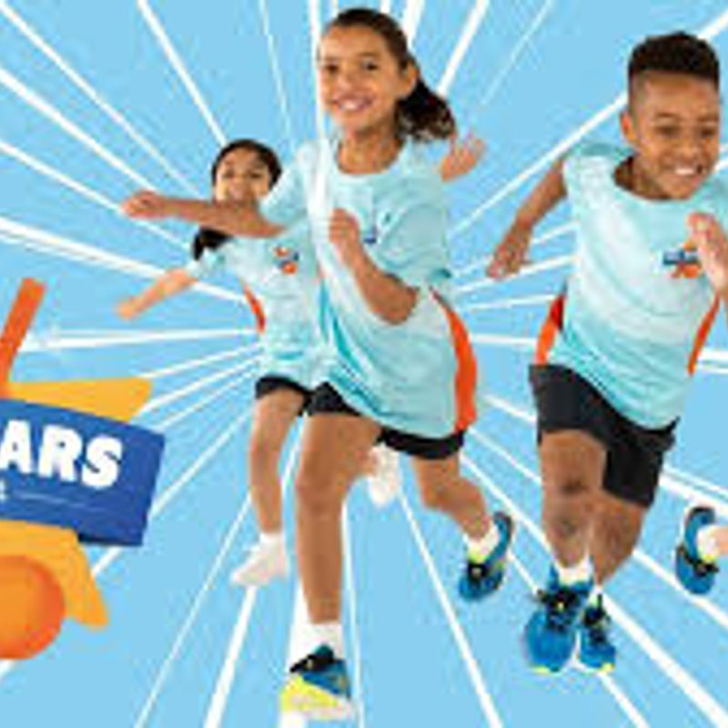 All Stars registration of 5 to 8 year olds is now open