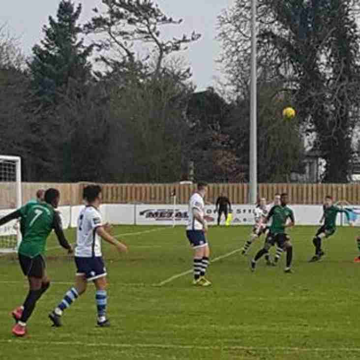 Ressies v Lewisham Borough Match Report